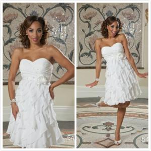 Quality Aline Beach wedding dress Bridal gown#5463 for sale