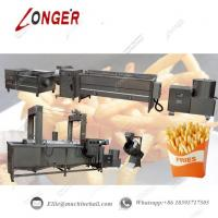 Quality Fully Automatic French Fries Production Line|Commercial French Fries Making Line|Automatic French Fries Processing Line for sale