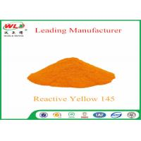 Quality OEM Yellow Polyester Dye M-5R C I Reactive Yellow 145 Printing On Cotton for sale