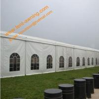 Quality Aluminum Waterproof  Fire Retardant Church Tent  PVC Marquee Party Event Tents for sale
