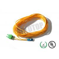 Buy Duplex Fiber Optic Patch Cord 2F 2mm Single Mode For Metro / WANs at wholesale prices