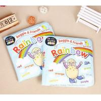 Quality Non-toxic Plastic Baby Bath Books Tearproof EVA Educational Waterproof Baby Books for sale