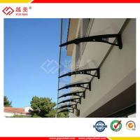 Quality Ten years guarantee plastic awnings polycarbonate door panel sheet for sale
