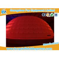 Quality Giant Inflatable Igloo Tent Led Lighting With Oxford Cloth Material for sale
