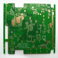 Quality 6 Layers Multilayer PCB Board 94v-0 3oz Copper High Tg170 Fr4 Immersion Gold for sale