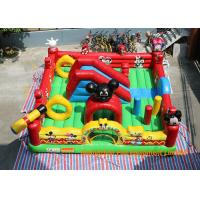 Quality 0.55mm PVC Tarpaulin Inflatable Mickey Mouse Bouncy House Club For Commercial for sale