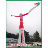 Quality Wind Resistant Inflatable Funny Cat Air Painting Dancer 6M Tall With CE Blower for sale