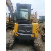 Quality Komatsu Construction Machines Used Excavator PC55 Strong Digging 4L Displacement for sale
