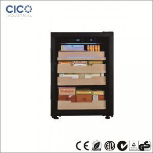Lightweight Cigar Humidor Cabinet , Cigar Humidor And Wine Cabinet