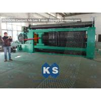 Buy Double Rack Drive Gabion Machine / Hexagonal Wire Mesh Machine at wholesale prices