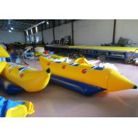 Quality Inflatable Water Banana Boat Towables for water park Small Blow Up Banana Boat Water Toy for children for sale