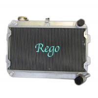 Quality 3 Row 56mm racing car Aluminum Radiator for MAZDA RX7 S1 / S2 MANUAL for sale