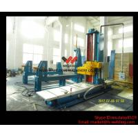 Buy cheap Automatic End Face Milling Machine 6KW 1200mm * 1500mm for H Beam / Box Beam Line from wholesalers