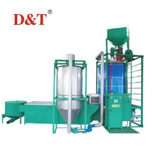 China D&T High Performance styrofoam polystyrene expansion beads making machine eps making machinery on sale