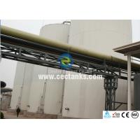 Quality Dark Green GFS Tanks / Wastewater Storage Tanks for Pharmacy for sale