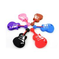 Quality Electric Guitar Customized USB 2.0 Flash Drives XP ,Vista Support for sale