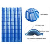Quality Bamboo Design Roofing Materials Spanish Style ASA Synthetic Spanish Roof Tiles for sale