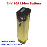 Quality electric bicycle battery 24v 10ah EB2410XY lithium ion battery pack for sale