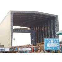 Quality Mobile Clear Span Structural Steel Buildings Precision Welded Modular Design for sale