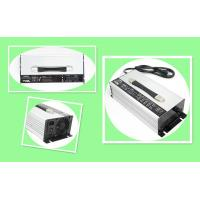 China 48V 30A Portable Battery Charger For Lithium Ion And Lead Acid Batteries Black Or Silver Housing on sale