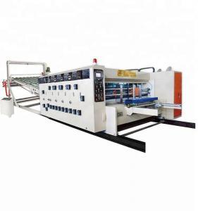 China P Board Printing Slotting Die Cutting Machine , Multi Colour Printing Machine on sale