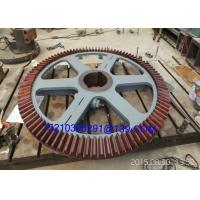 Buy Foged Steel Milling Machine Tool Straight Tooth Bevel Gear Wheel at wholesale prices