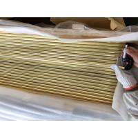 Quality Copper Brass Tube ASTM B111 O61 C44300 Boiler Tubes export to ITALY passed TPI 3.2 MTC INSPECCO INSPECTION for sale