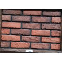 China Light Weight Exterior Brick Panels , Vintage Brick Veneer Wall Building on sale