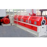 Quality PLC Control PVC Cable Extruder Machine With Water Strand Pelletizing System for sale
