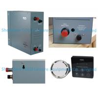 Quality 4.5kw Residential Steam Generator 220v / 380v with auto-descaling for Turkish bath for sale