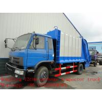 Quality dongfeng 12cbm garbage compactor truck for sale for sale