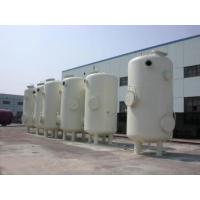 Custom Vertical Vacuum Receiver Tank , Stainless Steel Vacuum Storage Tanks