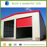Quality Cheaper fireproof light steel structure insulated sandwich panels shed for sale