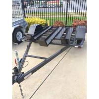 Quality Two Track 7x4 Tandem Axle Heavy Duty Utility Trailer For Motorcycle Transport for sale