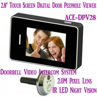 "Quality 2.8"" LCD Screen Digital Peephole Viewer Doorbell Video Camera Recorder Access Control DVR for sale"