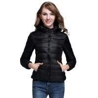 Quality Multi Color Womens Down Puffer Coat , Lightweight Puffer Jacket Zipper Front for sale
