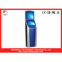 China SAW Touchscreen Wall Mounted Kiosk Outdoor With Thermal Printer on sale