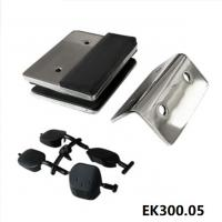 Buy cheap square post to glass spring loaded magnetic door latch-EK300.05 from wholesalers