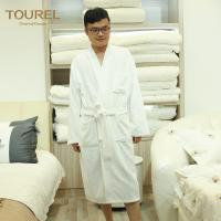 Quality Four Seasons Hotel Quality Bathrobes Imprinted Logo With 1000g Weight for sale