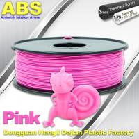 China 1767C Pink Plastic Filament For 3D Printing Consumables Filament on sale