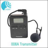 800MHZ 008A Mini Tour Guide Audio System Wireless Audio Guide For Tourist Reception