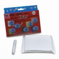 Quality 30g Super Lightweight Clay Plus 5.5mL Glitter Glue pen Hanging Box Pack, Available in 10 Colors for sale