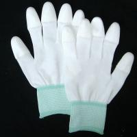 Quality 13G Nylon/Polyester PU Coated gloves for sale