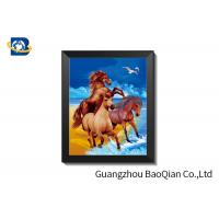 Home Decoration 3d Animal Pictures 30 X 40cm / Lenticular Image Printing