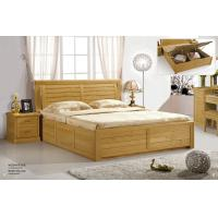 Quality Modern beech Wooden bed home furniture for sale