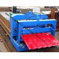 Quality Metal Roof Forming Machine Glazed Tile Cold Forming Machin Color Steel Glazed Roofing Tile Making Machine for sale