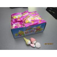 Quality 4 in 1 Marshmallow/ Ice Cream+Bun+Strawberry+cake Shaped Sweet Marshmallow for sale