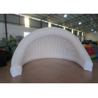 Quality Light Weight Inflatable Advertising Tent , Outdoor Mobile Event Air Blow Up Tent for sale