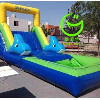 Buy Hot selling inflatable single water slide with 24months warranty GT-SAR-1670 at wholesale prices