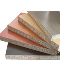Quality 18mm Thickness Melamine Faced Chipboard With Polished Surface FSC Standard for sale